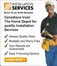 Home Depot service provider