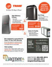 Fraser Valley Home Show Specials
